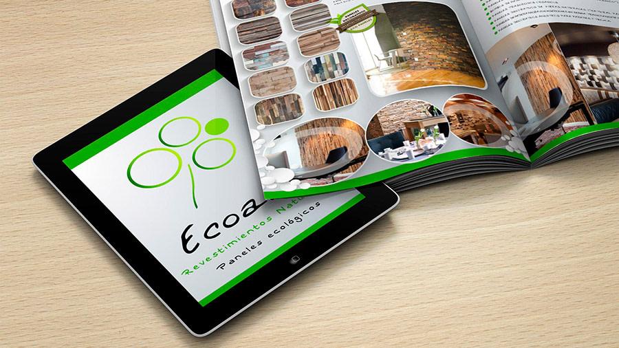 Diseño de catálogos y revistas