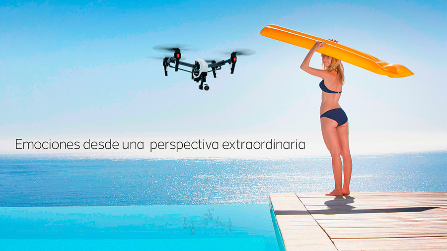 Dron en Las Palmas